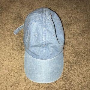 Light denim hat